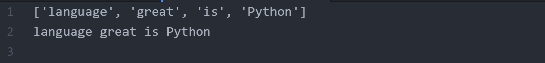 how to reverse words in a given String in Python