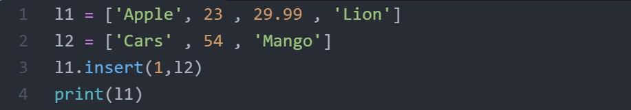 insert code 2