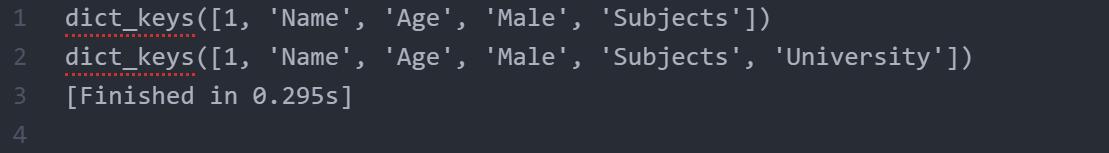 Keys()_output_method